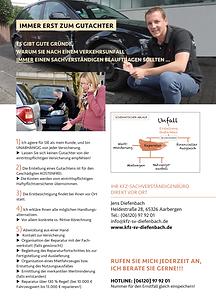 POWERREGION-Porträt von KFZ-Gutachter Jens Diefenbach, erschienen bei Peteratzinger-Publishing