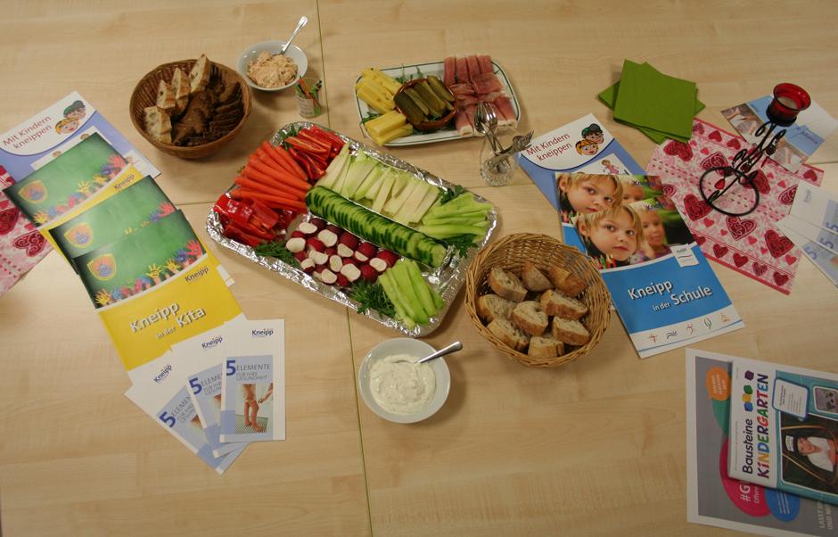 Gesunde Ernährung nach Kneipp in der Kita Spatzennest in Bad Camberg