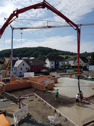 Projektfortschritt in Mengerskirchen