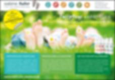 Werbeflyer für die Fusspflegepraxis Sabine Fuhr, Content und Design von Peteratzinger-Publishing Hünfelden