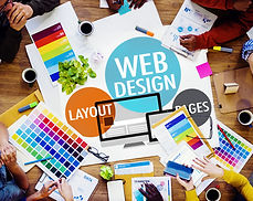 Web Design Content Kreative Webseite Responsive Konzept