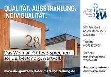 Qualität. Ausstrahlung. Individualität. Das Güteversprechen der Rolf Weilnau GmbH Hünfelden - solide, beständig, wertvoll.