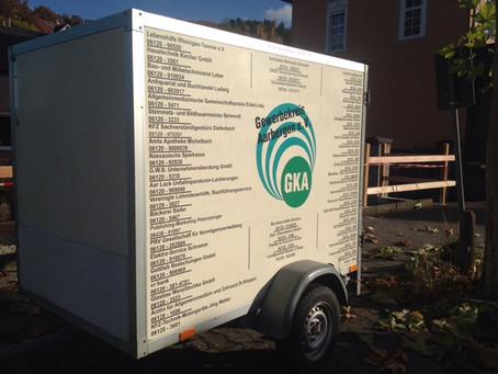 Kühlanhänger kostenlos ausleihen beim Gewerbekreis Aarbergen e.V.