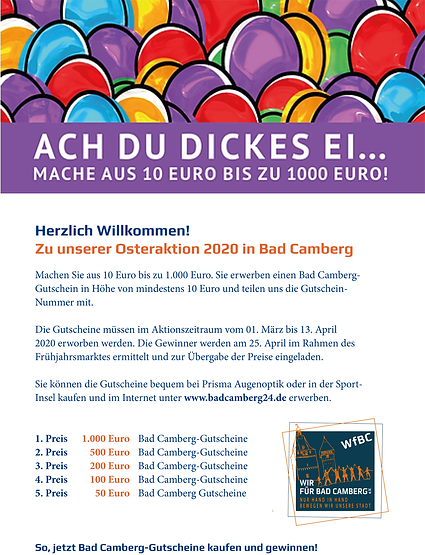 Osteraktion 2020 in Bad Camberg