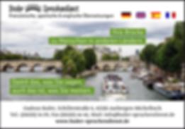 Bader Sprachendienst - Französische, spanische & englische Übersetzungen