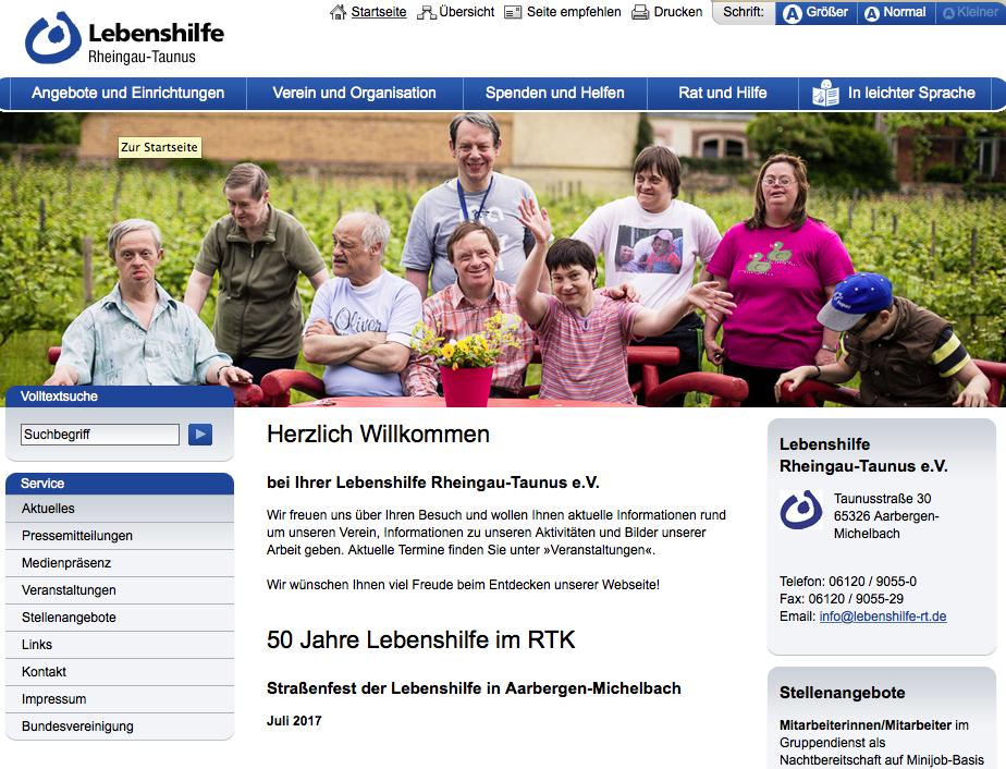 Lebenshilfe Rheingau-Taunus e.V.
