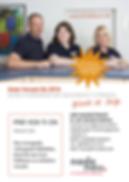 Arztwerbung, Imagewerbung für Arztpraxen, Anzeigenkampagne und Informationsprospekt für Praxis Dr. Nadenau in Hünfelden