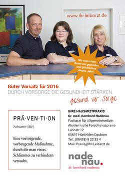 Praxis Dr. Nadenau Hünfelden