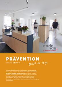 Durch Vorsorge die Gesundheit stärken - Praxis Dr. Nadenau informiert