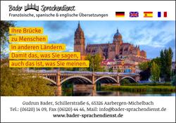 Übersetzungsbüro Gudrun Bader