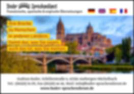 Brücke zu Menschen in anderen Ländern, Sprachendienst Bader, Schillerstraße6, 65326 Aarbergen-Michelbach