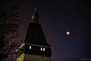 Blutmond in Bad Camberg 2019