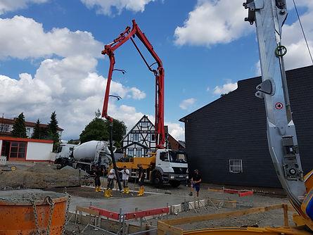 Baustelle Inklusionshaus Dorfmitte