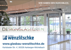 Designglastüren aus Aarbergen