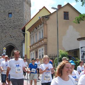 Jung und alt am Start beim Mehrgenerationen-Stadtlauf in Bad Camberg