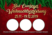 Weihnachtslose 2019 in Bad Camberg