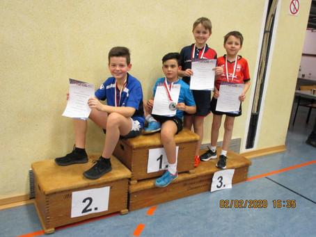 Schöner Erfolg bei den Kreismeisterschaften in Villmar