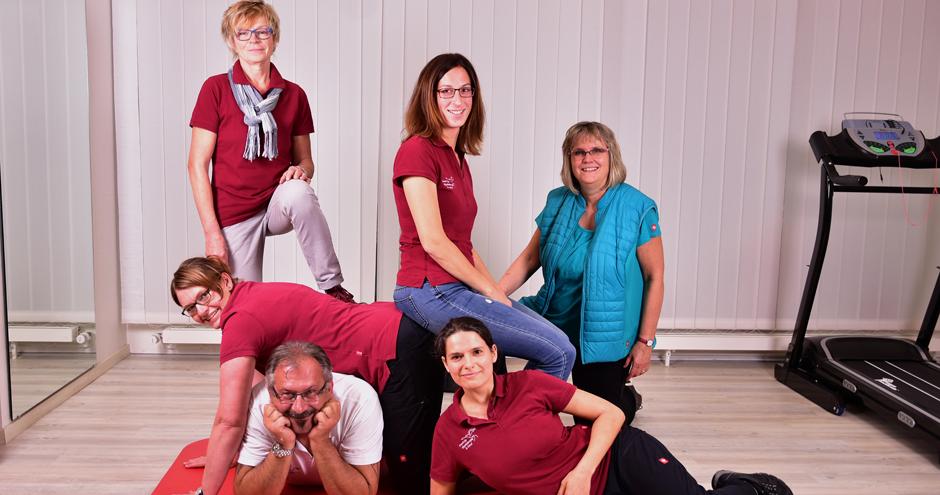 Das gesamte Praxisteam von Physio-Gutal