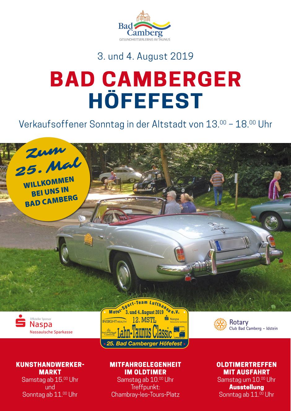 Bad Camberger Höfefest