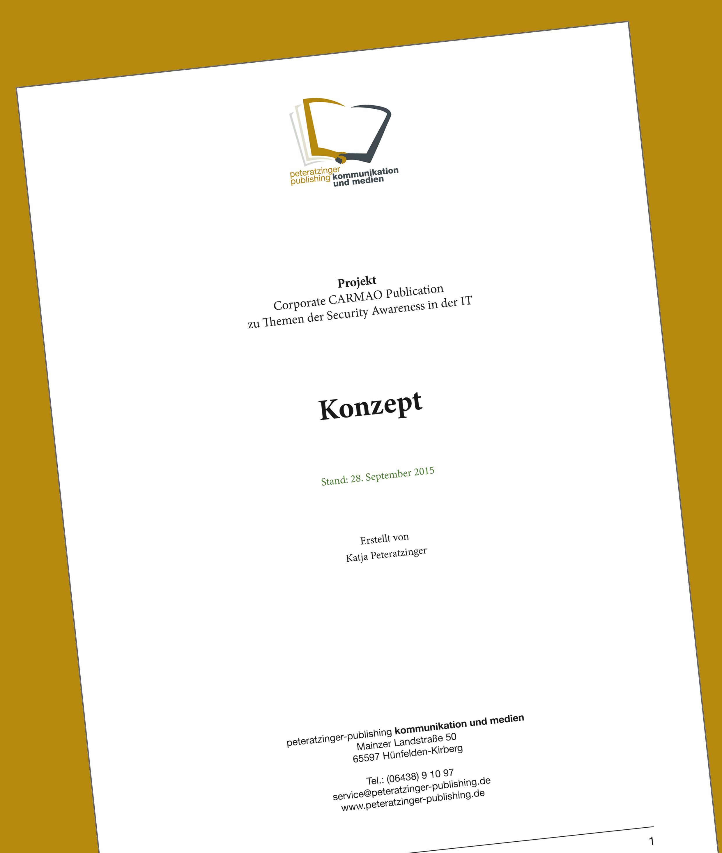 Corporate Publishing Konzept