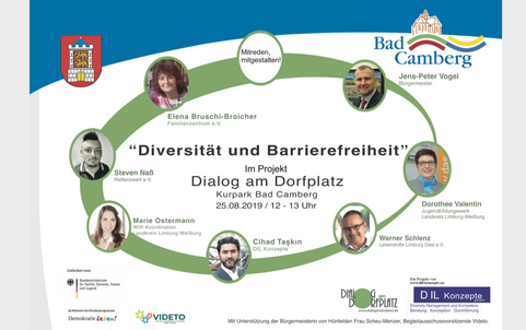 Diversität und Barrierefreiheit - Dialog