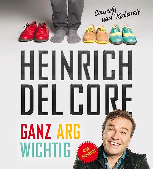 Heinrich del Core mit seinem Programm »Ganz arg wichtig« bei uns auf der Palmbachbühne in Aarbergen-Panrod