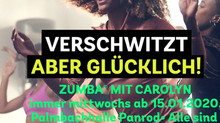 Neue Zumba-Kurse in Panrod ab Mitte Januar 2020