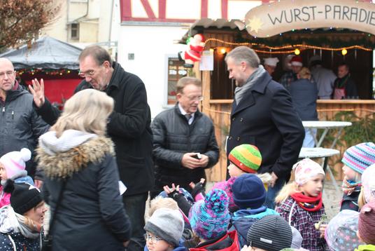Großer Auftrieb auf dem Marktplatz Bad Camberg