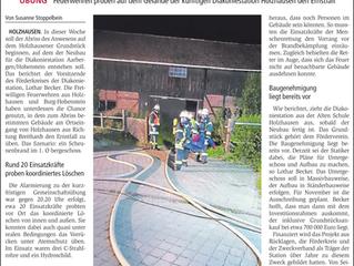 """""""Scheunenbrand"""" vor dem Abriss"""