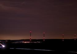 Hünfelden bei Nacht