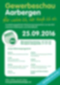 Aussteller jetzt anmelden zur Gewerbeschau 2016 in Aarbergen