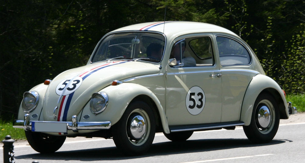 Herbie in Bad Camberg within the 11th VW veteran meeting