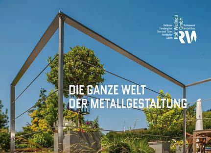Faszinierende Imagebroschüre für Metallgestalter Andreas Weilnau in Hünfelden-Dauborn