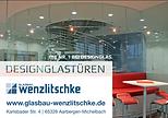 Designglastüren von Wenzlitschke