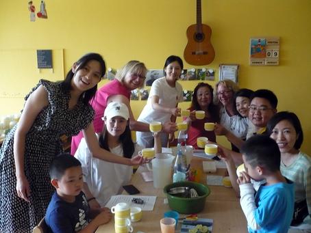 Kindertagesstätte Spatzennest hatte Besuch aus China