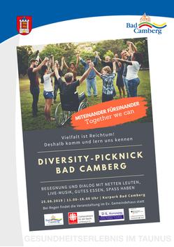 Diversity-Picknick Bad Camberg 2019