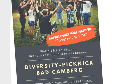 Miteinander füreinander – Together we can – Diversity-Picknick in Bad Camberg