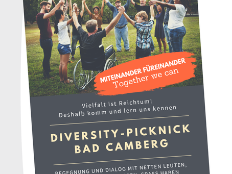 Miteinander füreinander – Together we can – Diversity-Picknick in Bad Camberg
