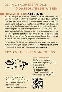 Mit Inhalten überzeugen - Contentmarketing für KFZ-Sachverständiger Jens Diefenbach