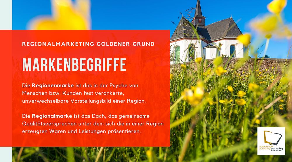 Wichtiger Erfolgsfaktor für Regionalmarketingprojekte ist das Verständnis und die Unterscheidung der jeweils verwendeten Marketingbegriffe. Dabei unterscheiden wir Regionenmarketing und Regionalmarke.