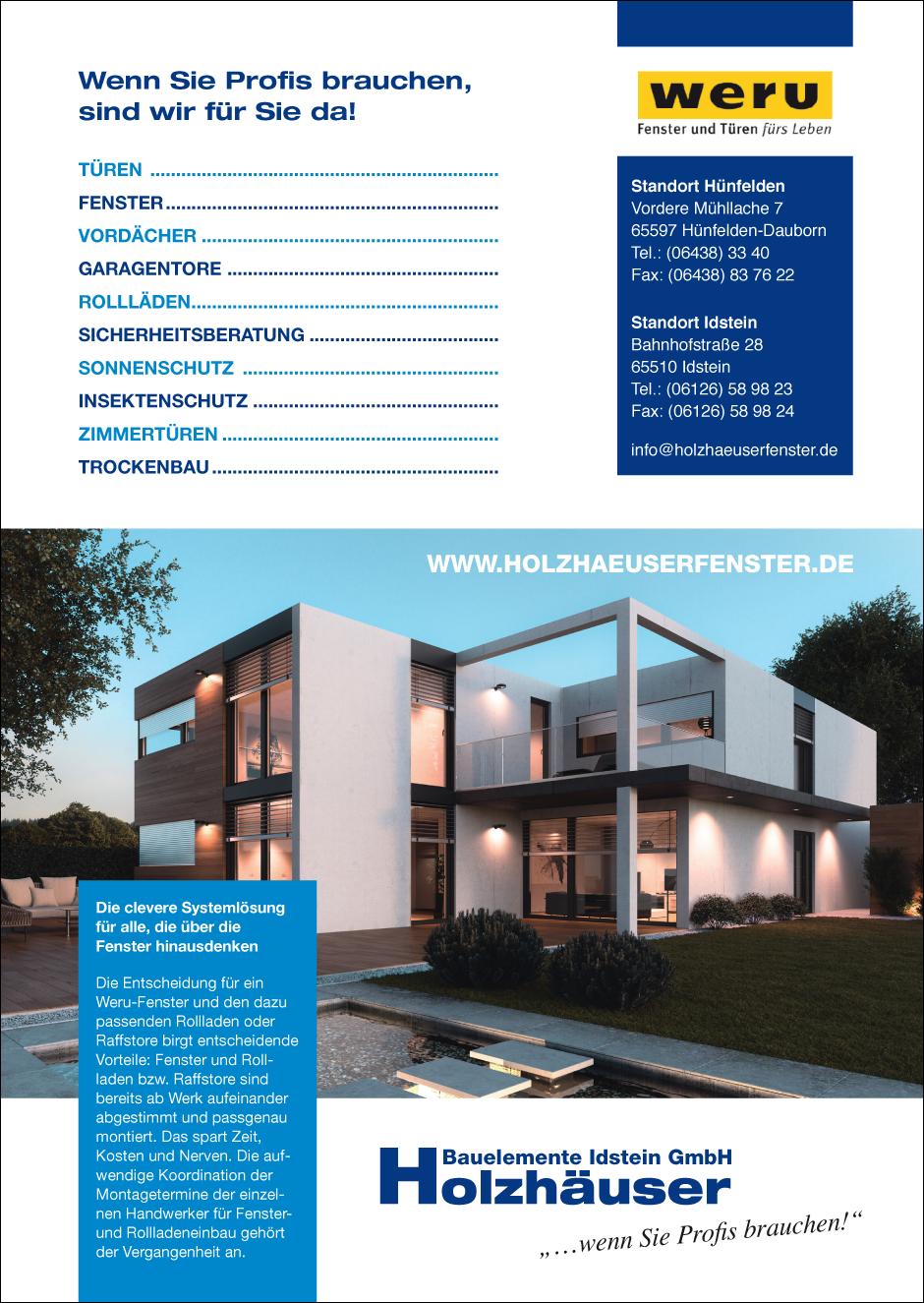 Holzhäuser Bauelemente GmbH