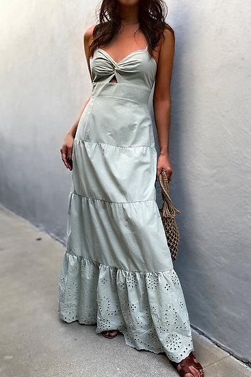 MISCHA Maxi Dress in Pistachio
