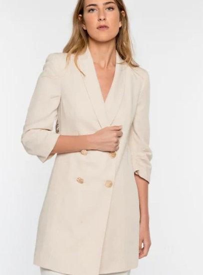 FABIANNA White Blazer Jacket