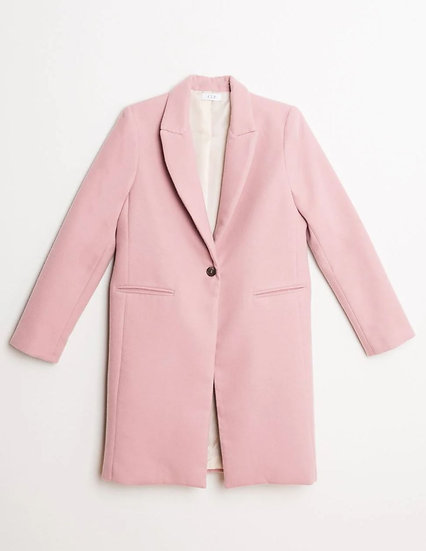 SOLVEIG Coat In Pink Or Frosty White