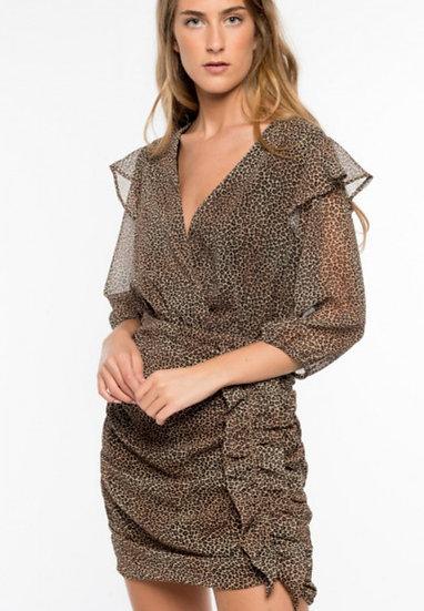 SOFIA Animal Print Dress