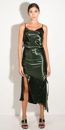AGAPI MOU- Emerald Green Dress