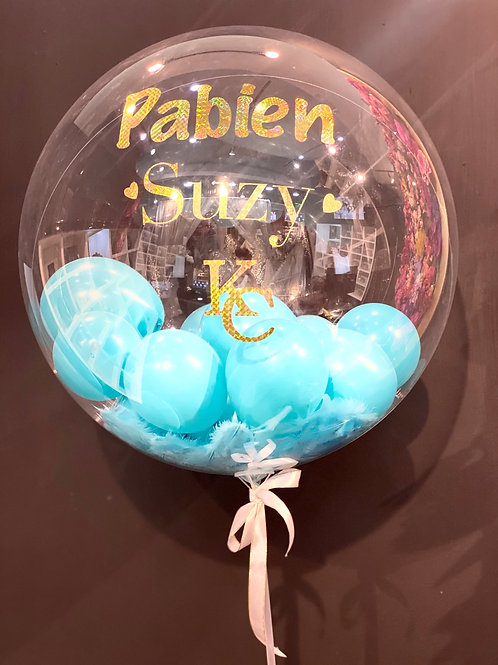Personalized Glam Balloons Large