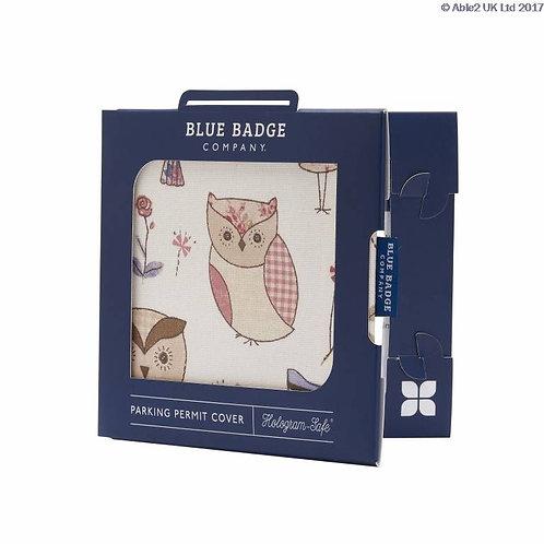 Blue Badge Permit Cover - Hoot Owls VAT EXEMPT