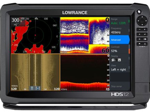 Echosondeur Lowrance HDS 12 GEN 3
