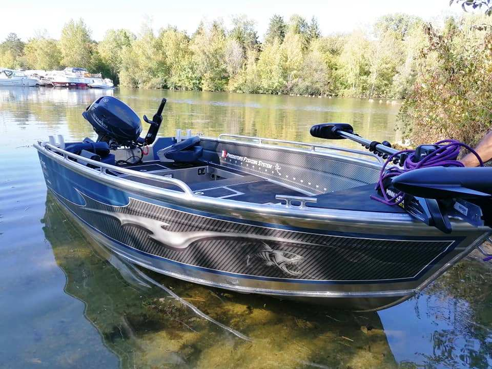 PF Boat 370 Tiller